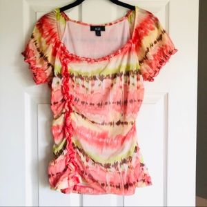 AGB Blouse with ruffles Size Medium